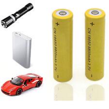 2Pcs 18650 9800mAh Li-ion 3.7V Rechargeable Battery For Flashlight Torch Abundan
