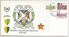 RSA Special Cover 40 Pretoria Highlanders Regiment