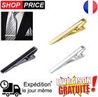 Pince à cravate de style contemporain en métal couleur argent / or / noir Homme