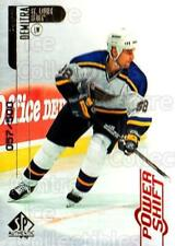 1998-99 SP Authentic Power Shift #74 Pavol Demitra