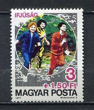 31999) HUNGARY 1977 MNH** Sports 1v. Scott# B317