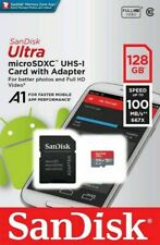 SanDisk Ultra 128gb Micro SD SDXC a1 Speicherkarte Class 10 UHS-I mit Adapter