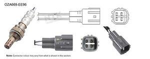 NGK NTK Oxygen Lambda Sensor OZA669-EE96 fits Toyota MR 2 1.8 16V VT-i (ZZW30)