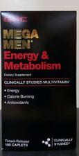 Gnc mega men Energy & Metabolism - 180ct - Free Shipping