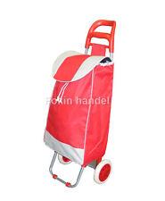 EinkaufsTrolley Einkaufswagen Trolleytasche Einkaufsroller Einkaufstrolley ROT