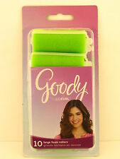 "GOODY LARGE 1"" FOAM HAIR ROLLERS - 10 PCS. (82571)"