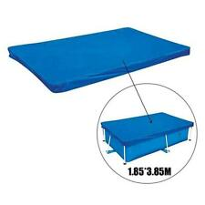 Rectangular Swimming Pool Cover UV-resistant Waterproof Durable Cover Dust P9K8