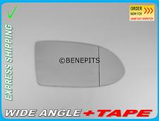 Wing Mirror Glass OPEL Zafira A 1999-05 Wide Angle +TAPE Right Side F017