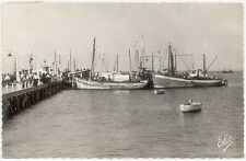 CARTE PHOTO ARCACHON - SARDINIERS AU PORT DE ST-FERDINAND