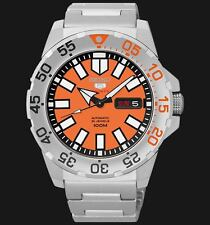 NEW MENS 100M SEIKO MINI MONSTER 24 JEWEL AUTOMATIC ANALOG SPORTS WATCH SRP483K1