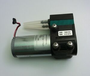 ASF THOMAS 7006 Diaphragm Vacuum Pump 24V DC Oilless laboratory grade 7.5l/min