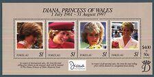 TOKELAU - BF - 1998 - Commemorazione di Diana Principessa di Galles