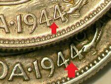 1944 Canada 50 Cents Near & Far 4 Silver #2657
