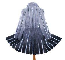 Nerz Pelz Mantel Jacke Pelliccia Fur jacket coat Fourrure Vison Piel OMBRE
