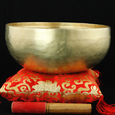 Tibetan Singing Bowl Nirmala Hand Hammered 28 cm Made in Nepal