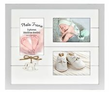 Baby AMORE Photo Frame for 3 Photos My First Year Wall Mounted Picture Holder