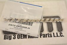 Ford Fusion Focus Titanium Premium Trunk Lid Emblem Nameplate Chrome new OEM