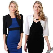 Polyester Formal Coats, Jackets & Vests for Women