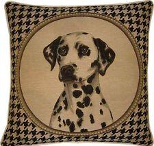 Dalmation Black Dogtooth Check Tapestry Cushion Pillow Sham