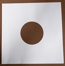 "25 x 10"" / 78 rpm WHITE PAPER INNER SLEEVES FREE P&P^"
