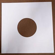 "25 x 10"" / 78 rpm WHITE PAPER INNER SLEEVES FREE P&P^"