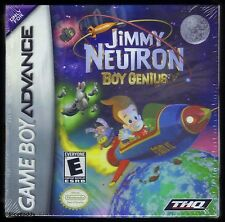 GBA Jimmy Neutron Boy Genius ( 2001 ), Nintendo of America, New & Factory Sealed