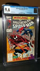1993 Marvel Comics Spectacular Spider-Man #201 CGC 9.6 White Pages Max Carnage!