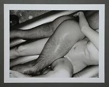 Nobuyoshi Araki Limited Edition Photo 34x27cm Erotos Nude Girl Man Couple B&W SW