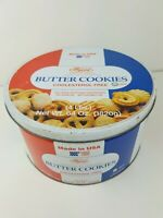 Vintage Imperial Butter Cookie Tin 64oz Made In USA