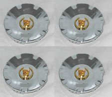 4 PCS MC2 CADILLAC CTS STS WHEEL RIM GOLD WREATH CENTER CAP MC2-C4578G SNAP IN