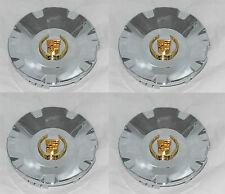 4 PCS MC2 CADILLAC CTS STS WHEEL RIM GOLD WREATH CENTER CAP MC2-C4578G SNAP IN