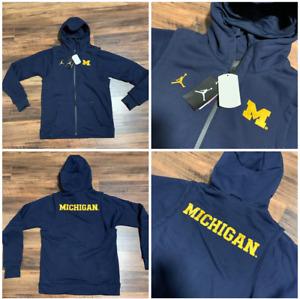 Mens Jordan Jumpman Michigan Wolvereines Player Heavyweight Hoodie Jacket $350