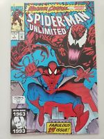 SPIDER-MAN UNLIMITED #1 (1993) 1ST APPEARANCE OF SHRIEK! MAXIMUM CARNAGE Part 1