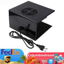 Nail Dryer Fan Mini Nail Art Drying Tools Nail Polish Air Dryer Blower Black Us