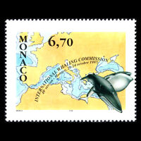 Monaco 1997 - International Whaling Commission Fish - Sc 2055 MNH