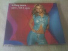 BRITNEY SPEARS - OOPS!..I DID IT AGAIN - UK CD SINGLE
