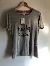 England Rugby Women's Princess Shirt - Size 14 (Small) - Grey - New