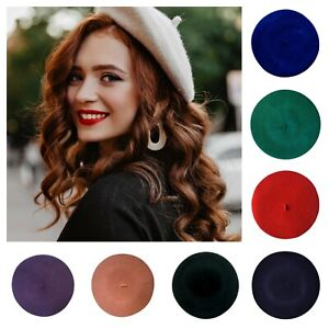 Central Chic Ladies High Quality 100% Wool French Beret Hat *Fast Delivery*UK*