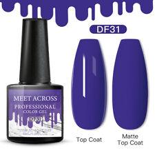 Meet Across Christmas Uv Gel Nail Polish Soak Off Manicure Purple 31 6ml Gel