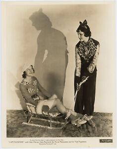Blanca Vischer, Patricia Farr Showgirls Sledding Festive Pin-Up Photograph 1933