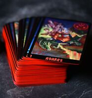 Lucifer's Tarot - Special Edition (RED). Set of 105 Occult Tarot Cards