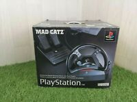 Mad Catz Analog And Digital Steering Wheel with Foot Pedals | Tested + Working