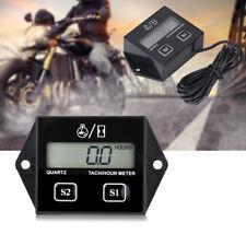 LCD Digitale Tachimetro Contagiri Ora Meter RPM Tester Per 2/4 tempi Motore Moto
