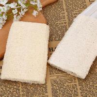 1X natural loofah sponges bath rub exfoliate bath towels clean body exfoliati_QA