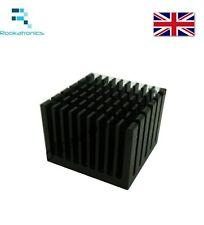 Nuevo 40 X 40 X 30 mm aluminio disipador térmico disipador radiador para electrónica Chip