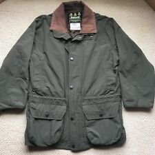 Barbour Jacket, Olive Green, Size Small, Non Waxed