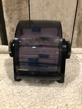 Rolodex Model Drf 24c Rotary Rolling Business Card Address File Organizer Usa
