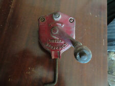 Vintage LUTHER HOUSEHOLD HAND GRINDER  CLAMP STYLE SHARPENING TOOL