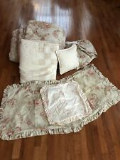 Ralph Lauren Heartland Floral Full/Queen 7 Piece Set French Country