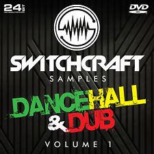 DANCEHALL & DUB VOL 1 - 24BIT WAV STUDIO / MUSIC PRODUCTION SAMPLES - DVD